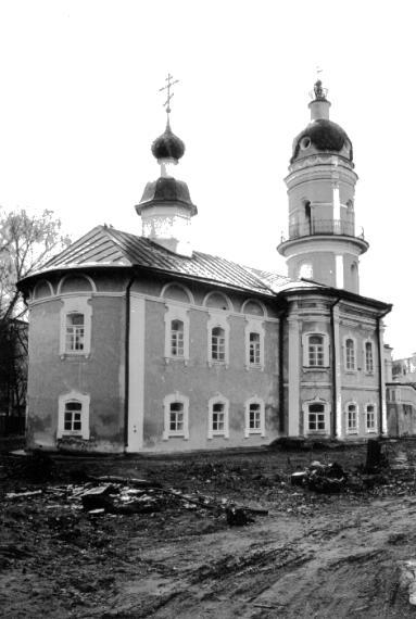 Церковь Алексеевская, втор. пол. XVIII в.; перв. пол. XIX в.