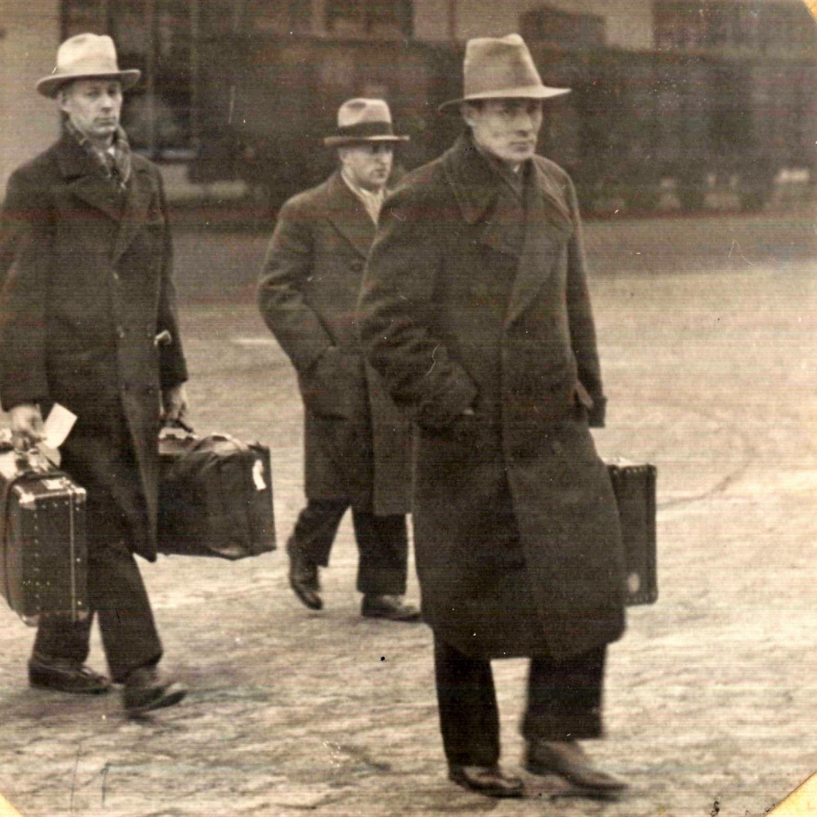 Чернышёв В.Н. Возвращение из командировки по США, 1934 год