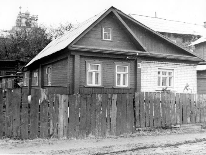 Дом,в котором жил В.Н. Чернышов, советский авиаконструктор, ученый