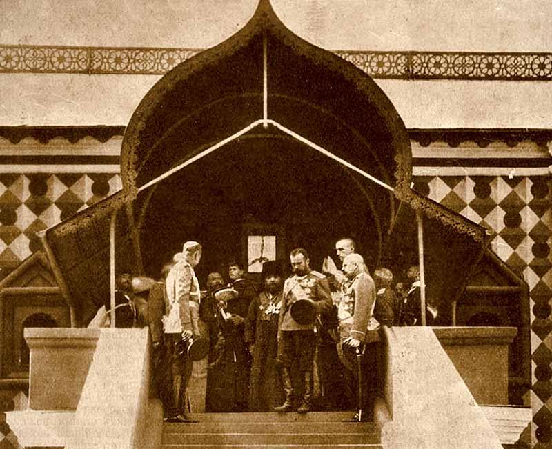 Николай II в Ипатьевском монастыре