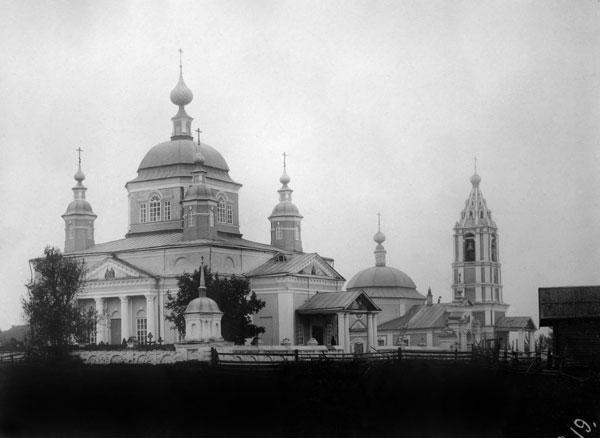 Храмовый комплекс села Митина-Верховья