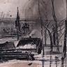 Храм с картины Саврасова