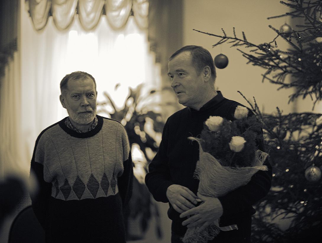 С выставки работ художника Алексея Мухина «Где-то в России»