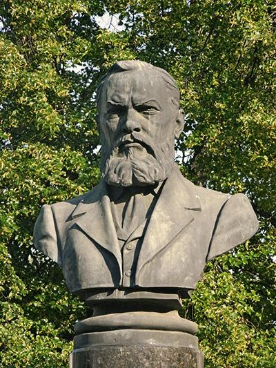Памятник А.Н. Островскому