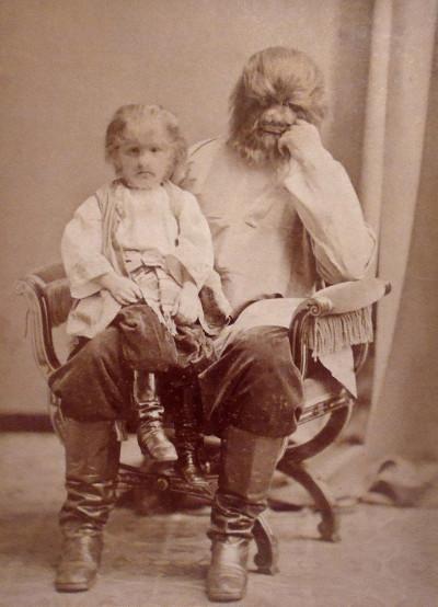 Фёдор Адрианович Евтихиев с отцом