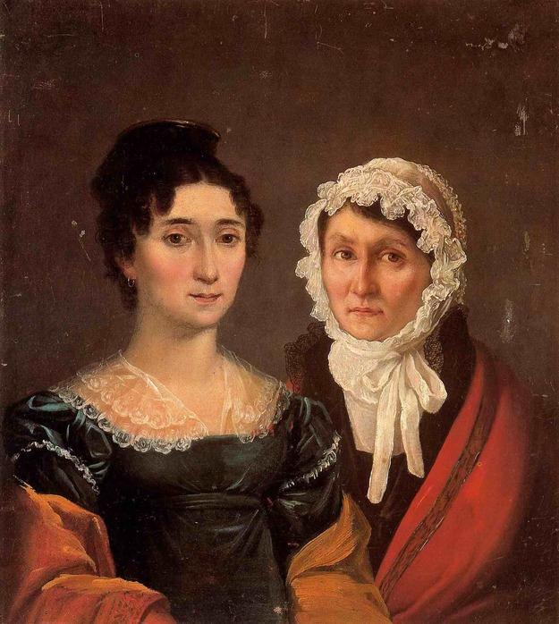 Портрет М.Ф.Корниловой и М.Л.Куломзиной