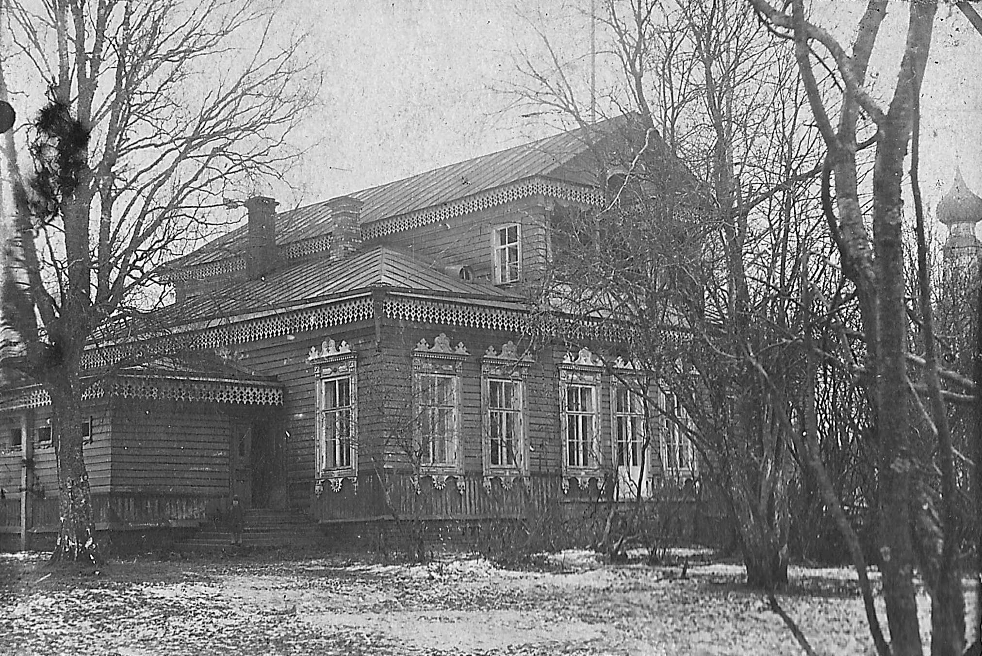 Парковый дом села Введенское. фото 1930 г. из коллекц. М.Шейко