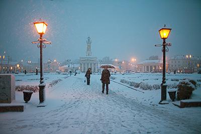 Уличные фонари в Костроме