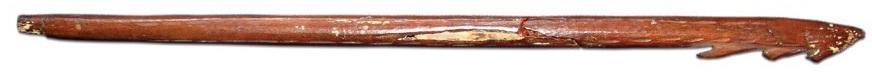 Костяной гарпун. Мезолит (?). Случайная находка в районе р. Костромы