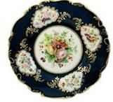 Тарелка мелкая. 1-ая половина XIX века