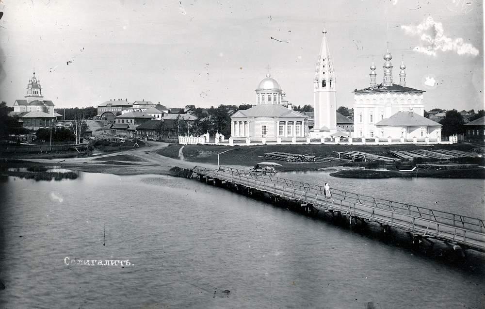 Kostroma river